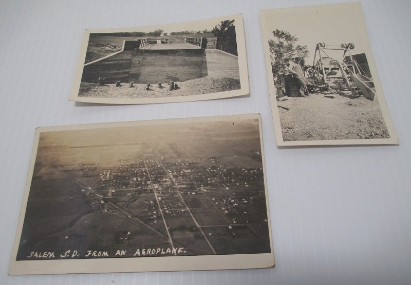 10 South Dakota Vintage Photos. Sioux Falls, Salem,  Canton. Possibly related to a Guernsey family.