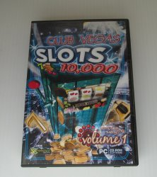 Club Vegas Slots PC Computer Game, Windows 7, Vista, XP