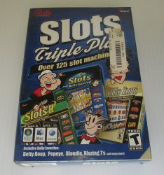 Slots Triple Play PC Game, Popeye, Betty Boop, Blondie, 125 games