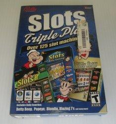 Slots Triple Play PC Game, Popeye, Betty Boop, Blondie, 125 games