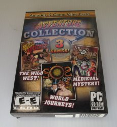 Adventure Collection, 3 Games, Hidden Object PC Computer