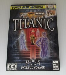 Titanic Hidden Mysteries PC MAC Game, Secrets of Fateful Voyage