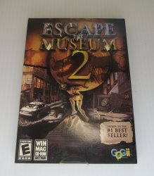 Escape The Museum 2, PC MAC Game, Hidden Objects Puzzle