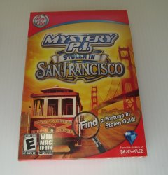 Mystery P.I. San Francisco PC MAC Game Hidden Objects Puzzle