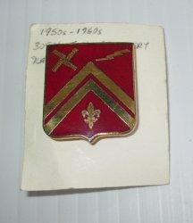 309th U.S. Field Artillery Insignia Pin, 1950s � 1960s Korea Vietnam