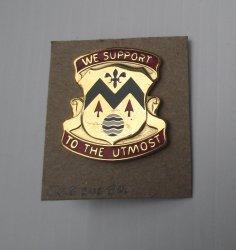 528th U.S. Army Sustainment Brigade DUI Insignia Pin