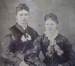 '.Antique Photos, Cowles Ladies.'