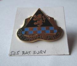525th Battlefield Surveillance Brigade DUI Insignia Pin