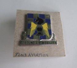82nd Aviation Regiment DUI Insignia Pin D-22
