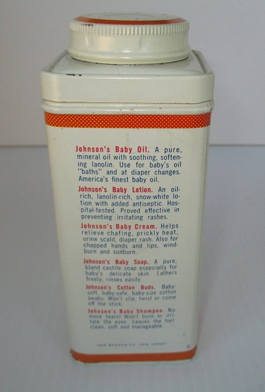 Johnson S Baby Powder Vintage 9 Oz Tin Never Opened