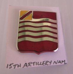 15th U.S. Field Artillery Insignia Pin, Vietnam Era
