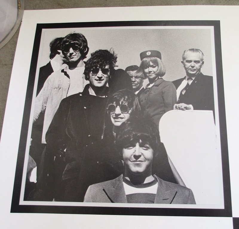 The Beatles last concert was at Candlestick Park in San Francisco on August 29, 1966. It is a 25th anniversary poster dated 1991.