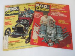 Rod & Custom Magazines, 2 issues, May and June 1971
