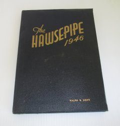 California Maritime Academy Vallejo 1946 Hawsepipe Yearbook