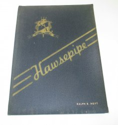 California Maritime Academy Vallejo 1944 Hawsepipe Yearbook