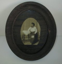 African American Woman 1917 photo to sister Annie from Essie