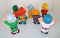 '.Seven Dwarfs, 1960s Squeaky .'