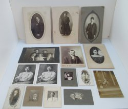 Lot of 15 Antique Photos, Theodore Record Chanute Kansas