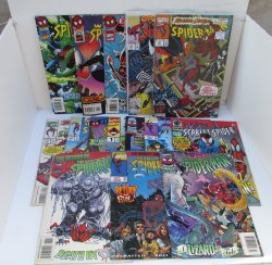 Spiderman, 15 Various Comics, 1995 to 1998, Some sealed