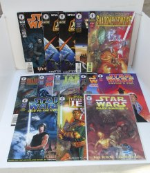 '.13 Star Wars comics 1995-2002.'