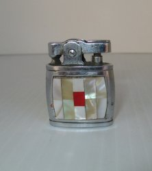 Raylite Lighter, Baby Style, Mother of Pearl, Vintage
