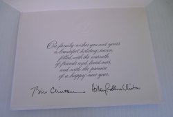 '.White House Christmas Card.'