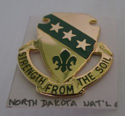 1 North Dakota Air National Guard ARNG Insignia Pin