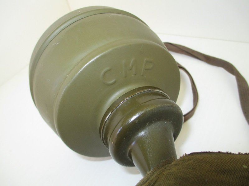 1937 gas mask made in Czechslovakia. Marked FATRA 1, 1A. Used until late 1945. Canister marked CMP. WWI WWII.
