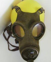 '.Fatra Gas Mask circa 1937 WWII.'