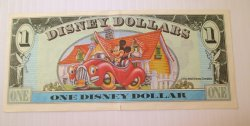 '.Disney Dollar, Mickey's 65th.'