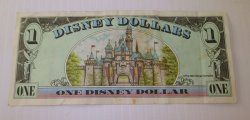 '.Disney Dollar, 1998 Disneyland.'