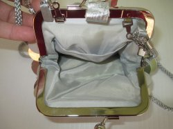 '.Isaac Mizrahi evening bag NWT.'