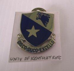 1 University of Kentucky ROTC Insignia Pin