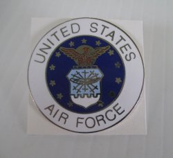 1 United States Air Force Large 1.5 Inch Insignia Pin