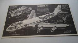 Pan Am Boeing 747 Cutaway Diagram Poster, Popular Mechanics