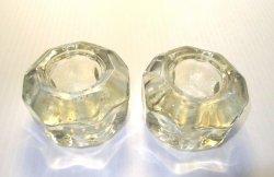 '.Vintage Glass Faucet Handles.'