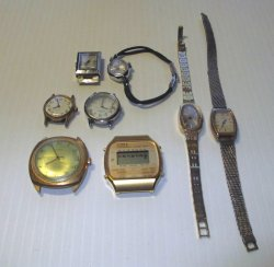 '.8 Non working Timex watches.'