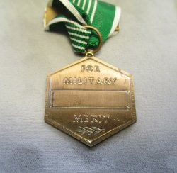 '.U.S. Military Merit Medal Set.'
