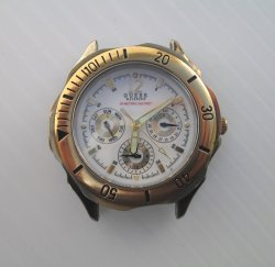 Men's Guess Waterpro 50 Meter 165 Feet Watch, No band