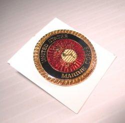 1 United States Marine Corps Veteran Insignia Pin