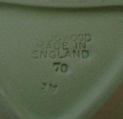'.Wedgwood Jasperware Spade Dish.'