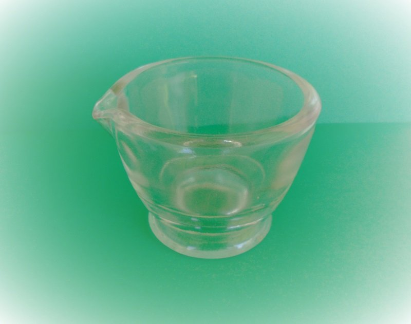 Perfect brand 2 oz measuring cup. Made in Japan. Thick clear glass. Vintage, but unknown date. No chips, cracks, or breakage. Offered by kenoticket