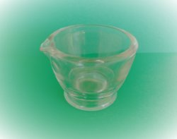 Perfect Brand Vintage 2 oz Clear Glass Measuring Bowl