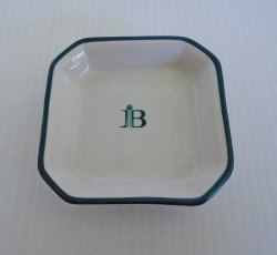 Dunn Bennett Co Royal Doulton Dish, Vitreous Ironstone