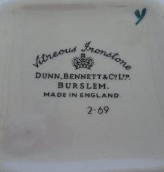 '.Dunn Bennett Royal Doulton.'