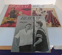 Bernat Handicrafter, Knit Crochet, 3 from 1953 to 1955