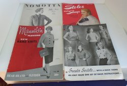 Vintage Knit and Crochet Booklets, 4 from 1944 to 1957
