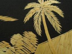 '.Asian Straw Bamboo Art.'