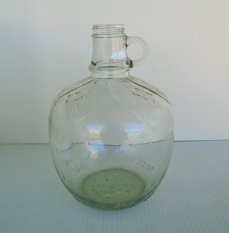 Martinelli Amp Co 1 2 Gallon Apple Cider Jug Bottle 1930s 50s
