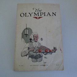 The Olympian Magazine, Dec 1921, Olympic Club San Francisco